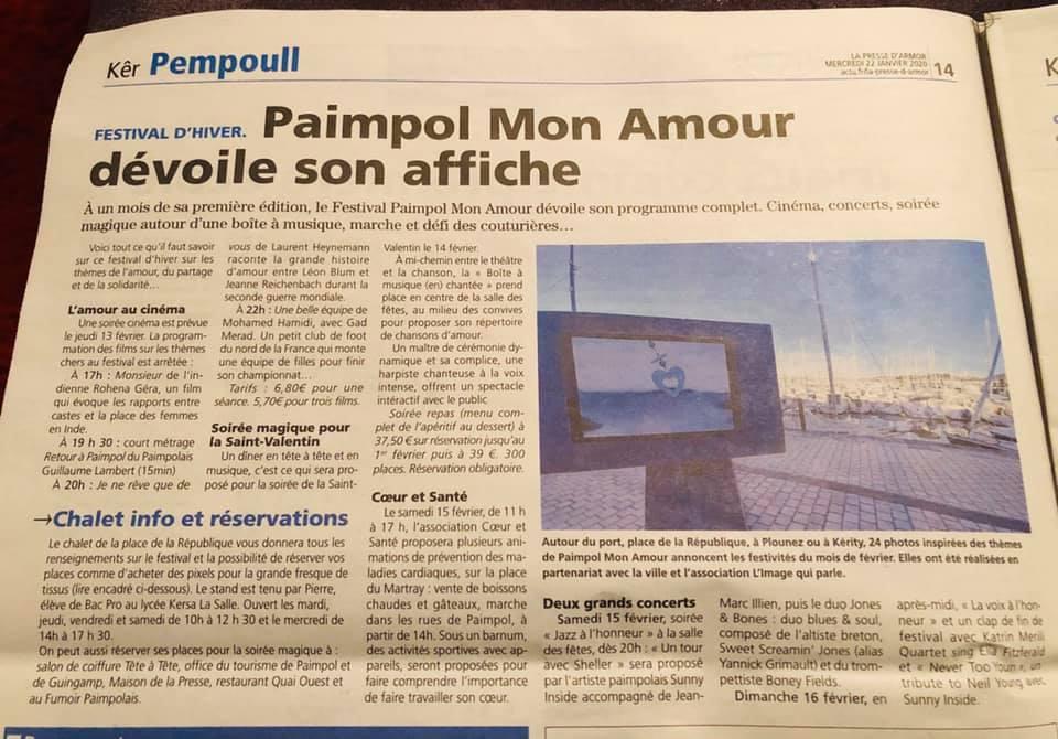 ARTICLE PRESSE D'ARMOR 22 01 20