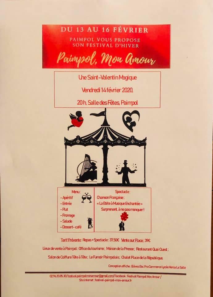 Paimpol Mon Amour, programme St Valentin