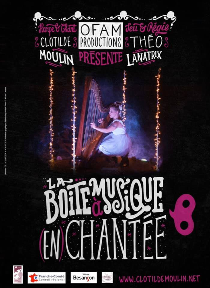 Affiche : La boite à musique (en) chantée