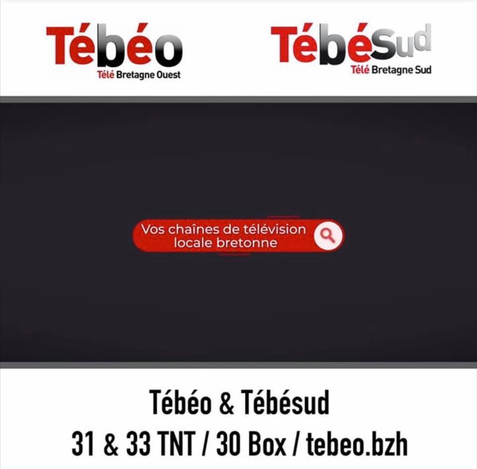 Tébéo et Télésud canal 31 et 33 TNT