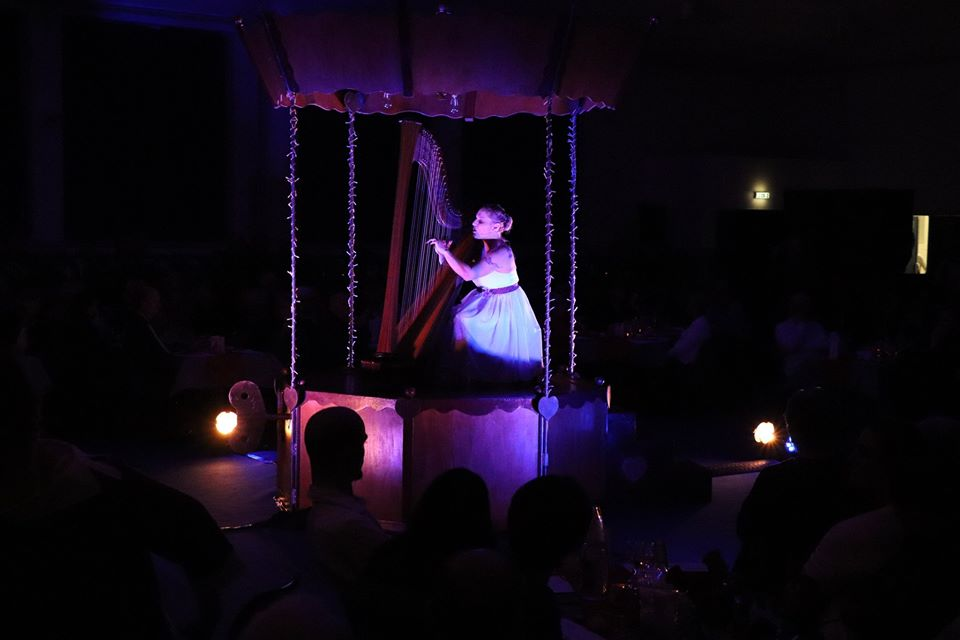Clotilde Moulin sur scène