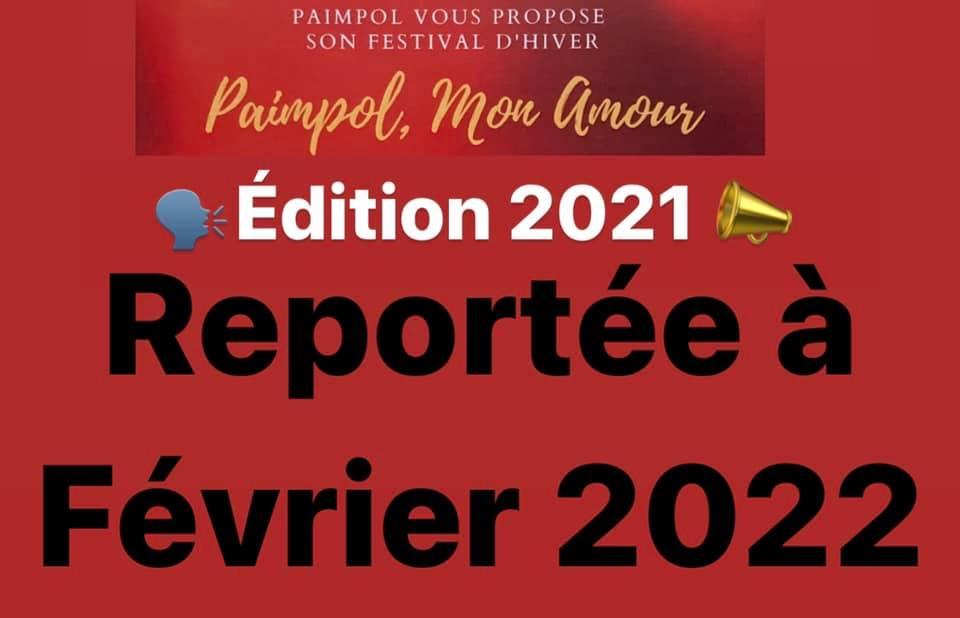 Edition 2021 reportée