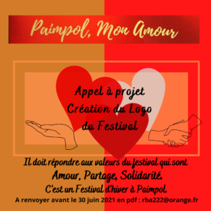 Appel à projet pour la création du logo du Festival Paimpol mon amour