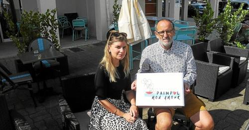 Article de Presse sur le Télégramme du 18 juillet 2021. Amaury et Miléna en photo présentent le nouveau logo de l'association.